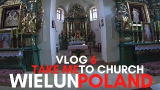 Wieluń Poland VLOG 6 The Bernadine Nuns Church, Wieluń Park And The Town Hall