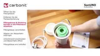 Wasserfilter - einfache Handhabe und erschwinglich