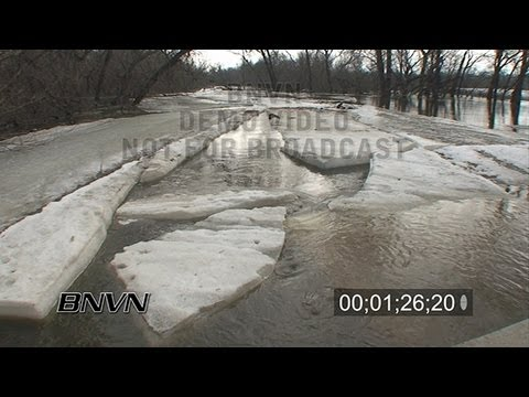 3/21/2009 Wilkin And Clay County MN Flooding - Stock Video Part 2