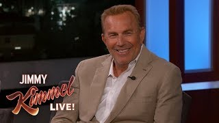 Kevin Costner on His First Job, Growing Up in Compton & His Wife