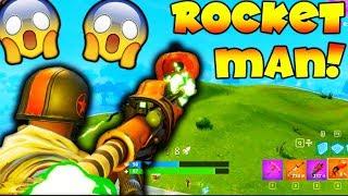 ROCKET MAN!!! (Fortnite Battle Royale Gameplay)