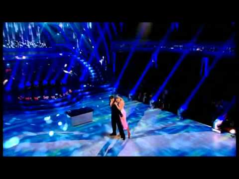 Holly Valance and Brendan Cole dancing the Rumba