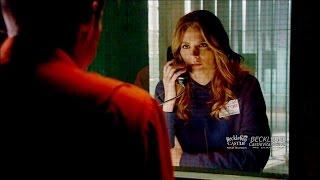 "Castle 8x02 ""XX"" Beckett Visits Bracken in Prison Season 8 Episode 2"