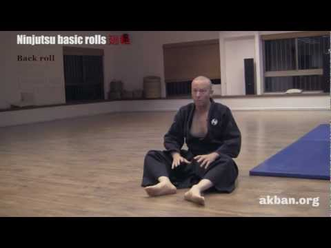 How to learn the basic Ninjutsu rolls - Ninjutsu training - AKBAN Image 1