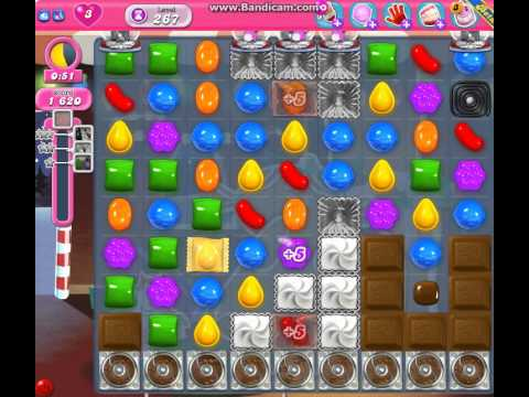 Candy Crush Saga Level 267 Gameplay No Booster