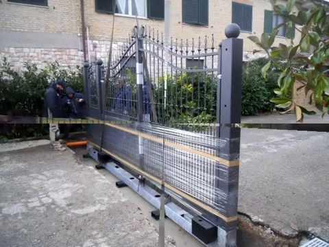 cancello monoblocco leader nel settore a m ferrotecnica