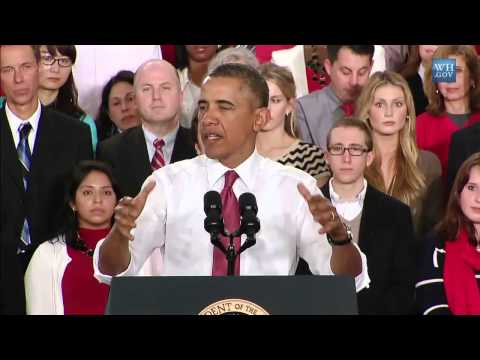 "Obama Vows ""Year Of Action"" On Jobs - Full Raleigh, NC Speech"