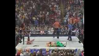 Basham Brothers & Shaniqua vs Billy Gun & Torrie Wilson