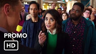 "Powerless (NBC) ""Company Motto"" Promo HD - Vanessa Hudgens comedy series"