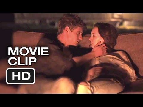 The Host Movie CLIP - Campfire Kiss (2013) - Stephenie Meyer Movie HD