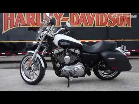 2014 Harley-Davidson SuperLow Sportster 1200T First Ride - MotoUSA