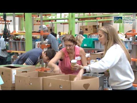 Green Mountain Energy Sun Club and the Houston Food Bank
