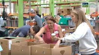 Green Mountain Energy Sun Club and the Houston Food Bank