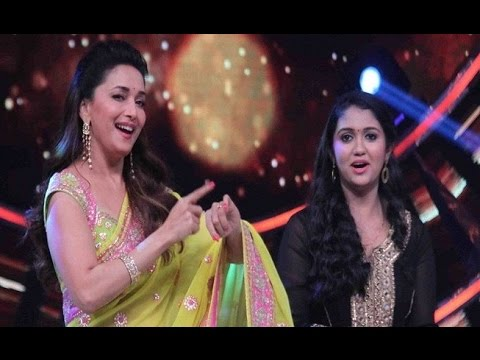 Sairat Fame Rinku Rajguru Perform Lavani with Madhuri Dixit on 'So You Think You Can Dance'