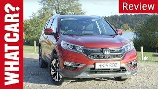Honda CR-V review - www.whatcar.com