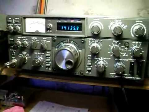 Kenwood Amateur Radio Hybrid TS-830S test qso
