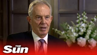 Tony Blair says a no-deal Brexit is 'a threat to the United Kingdom'
