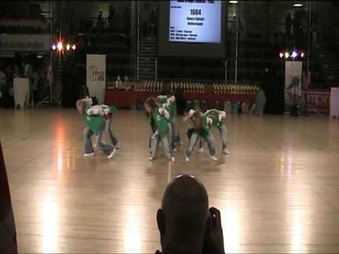 Dancesplash 3e EK 2011 in Slagelse Denemarken