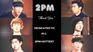 2PM- Thank You