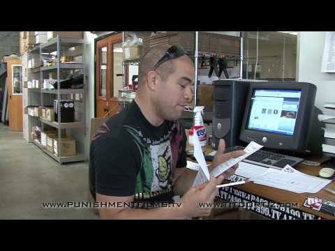 Tito Ortiz UFC 121 Contract Video