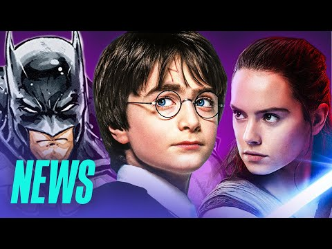 Neue HARRY POTTER Bücher / STAR WARS 9 startet früher / BATMAN VS. TURTLES-Film