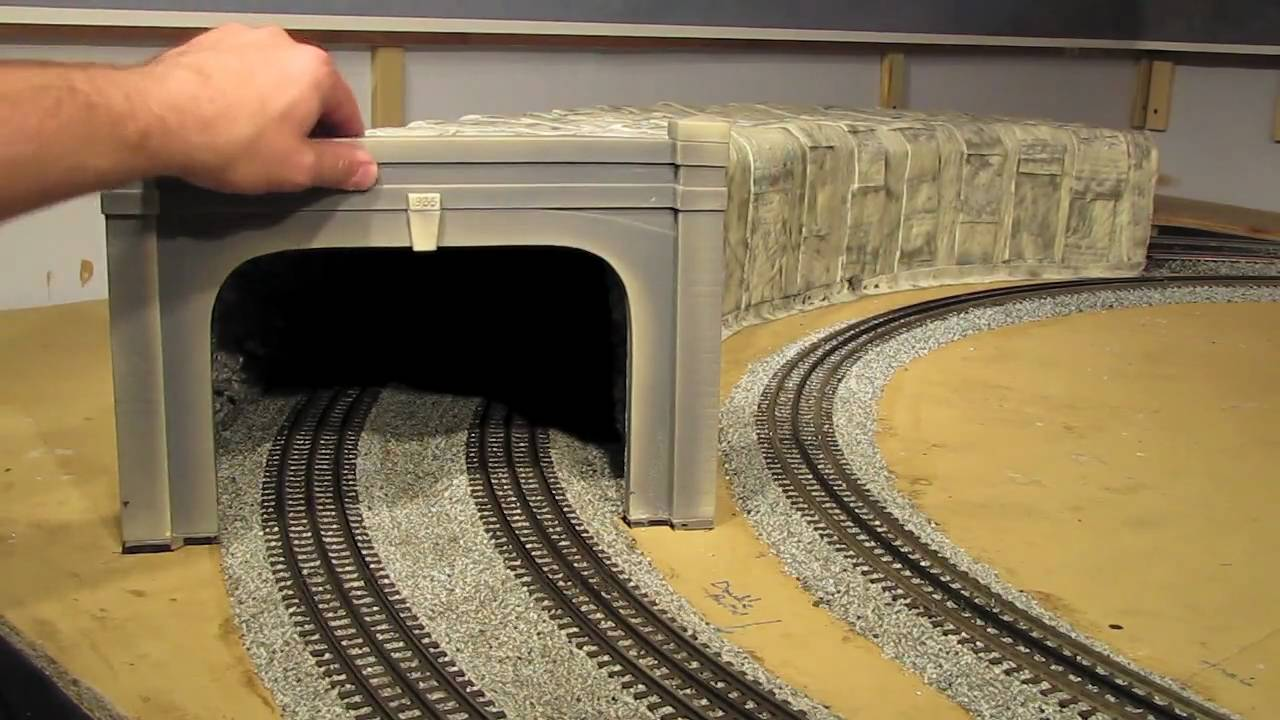 Building O Scale Tunnels Part 8 Of 8 Youtube