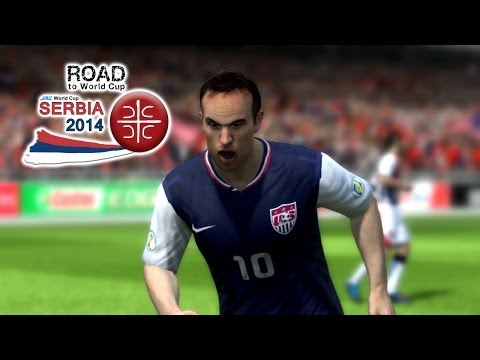 FIFA 13 - RTWC Serbia 2014 - USA vs. Belize