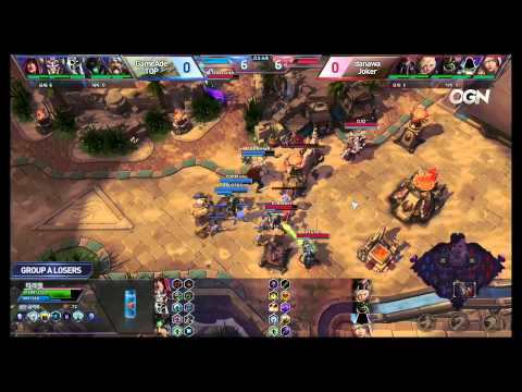 Jokers vs. TOP - Game 1 - Ro8 Group A Losers Match - Heroes of the Storm Super League 2015
