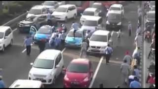 Download video Ganasnya sweeping supir taksi