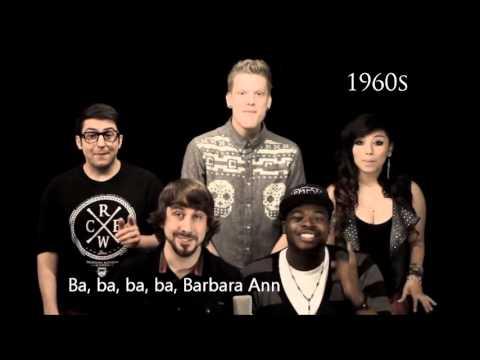 Pentatonix - Evolution Of Music (LYRICS WITH VIDEO)