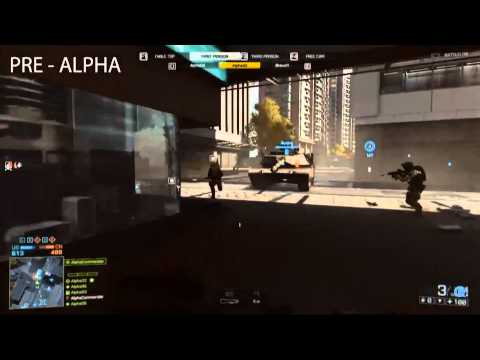 Battlefield 4 - M82A3 Semi Automatic 50. Cal Sniper Rifle in Multiplayer - BF3 / BF4 Footage