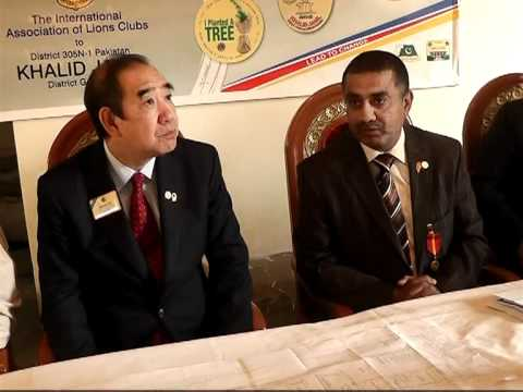 International President Wing-Kun Tam Visits Harmain Lions Eye & General Hospital (2 of 3)