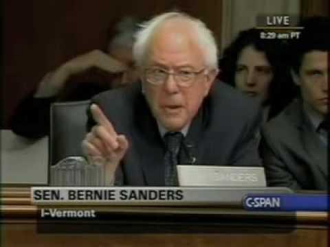 Bernie Sanders compares global warming skeptics to Nazi deniers