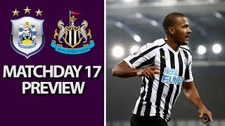 Huddersfield v. Newcastle   PREMIER LEAGUE MATCH PREVIEW   12/15/18   NBC Sports
