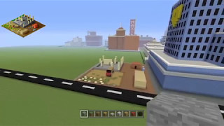 Minecraft SimCity 2000 Construction Build #1