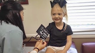 Doctors visit for Everleigh... (Getting 2 shots)
