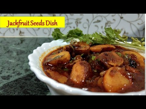 Jackfruit Seeds Curry|kathal ke beej ki sabzi |How to make Jackfruit seeds dish in Hindi|