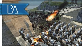 Massive Orc Army Surrounds Men, Elves, and Dwarves! - Third Age Total War Reforged