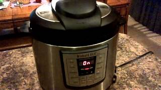 "Instant Pot ""Water Test"" Experiment (20160306)"