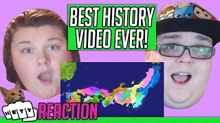 history of japan REACTION!! 🔥