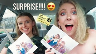 SURPRISING MY SISTER WITH JONAS BROTHERS CONCERT TICKETS!