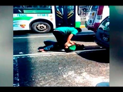 Terapia para los peleadores callejeros en Lima