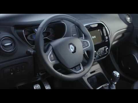 2017 New Renault CAPTUR Interior Design In White | AutoMotoTV