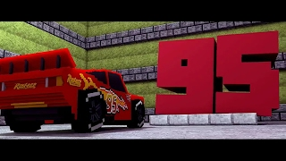 Cars 3 -Extended Look (Minecraft Re-make Animation)