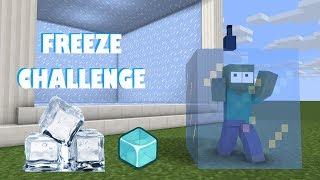 Monster School : FREEZE CHALLENGE - Minecraft Animation