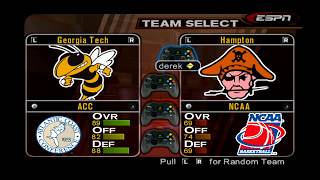 ESPN College Hoops 2K5 - All Teams Overall Ratings