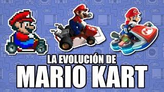 La Evolución de Mario Kart - Leyendas & Videojuegos