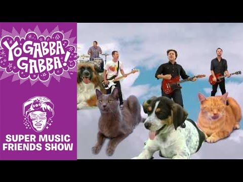 Jimmy Eat World - Beautiful Day Yo Gabba Gabba