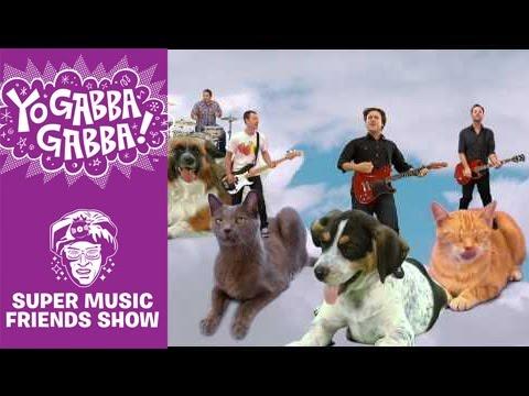 Jimmy Eat World - Beautiful Day Yo Gabba Gabba