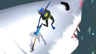 GIANT SHARK RIDE - Amazing Frog - Part 88   Pungence
